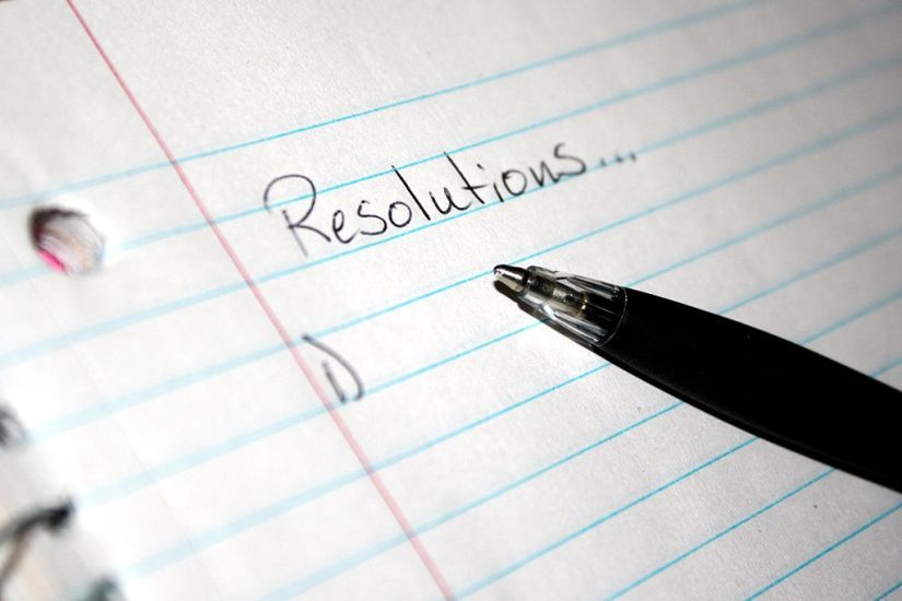 Good News Everybody! I Made Four New Year's Resolutions So You Don't Have To…